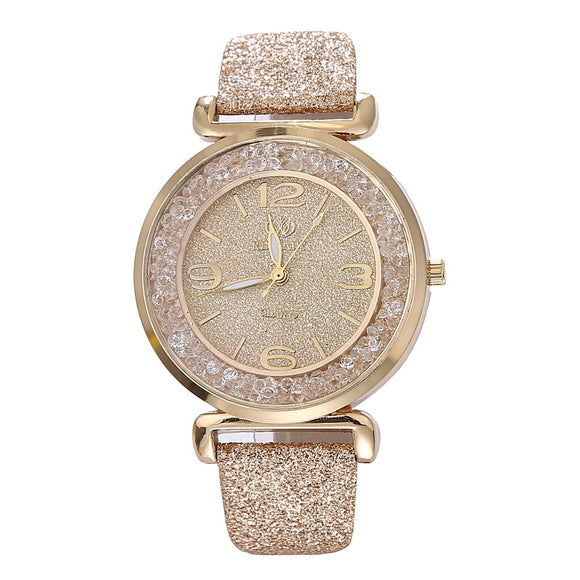 Best Selling Fashion Women Watches Luxury Crystal Stainless Steel Quartz Wrist Watch