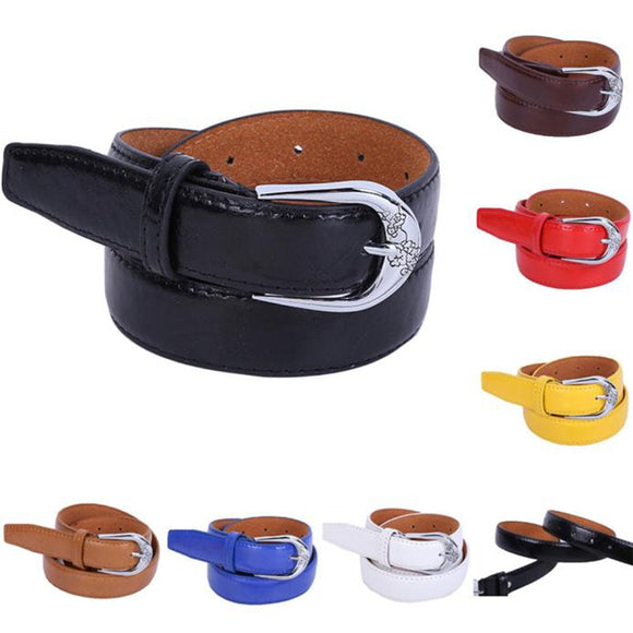 Fashion Belt Women's Vintage Accessories cintos para as mulheres Casual Leisure Solid Color jeans Belt Simple Types