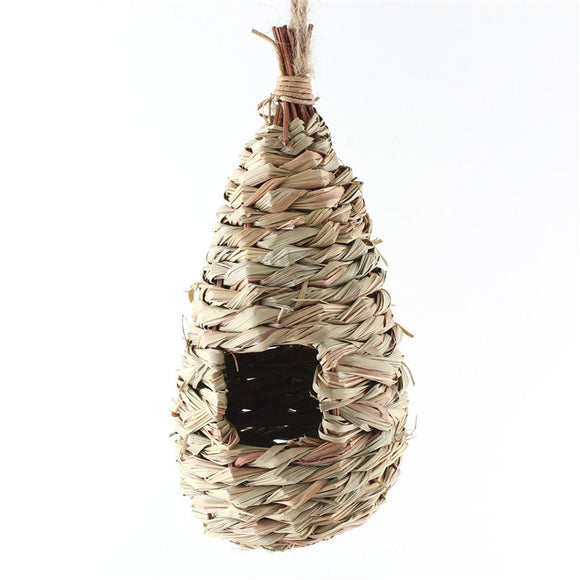 Natural Grass Woven Hanging Nest