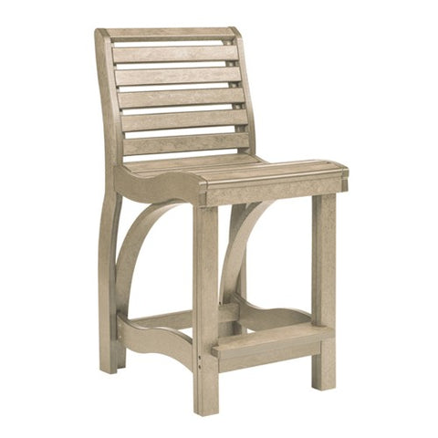 CR PLASTICS C36 COUNTER CHAIR BEIGE