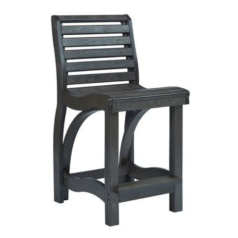 CR PLASTICS C36 COUNTER CHAIR BLACK