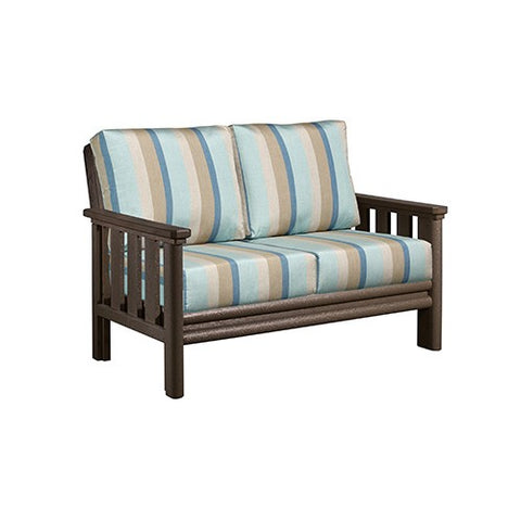 DSF142 Loveseat and Cushions - Standard