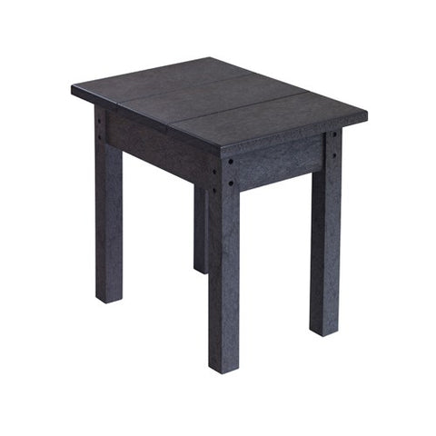T01 SMALL RECTANGULAR TABLE BLACK 14