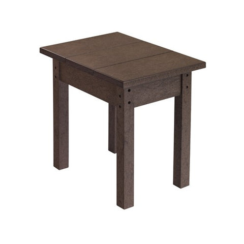 T01 SMALL RECTANGULAR TABLE CHOCOLATE 16