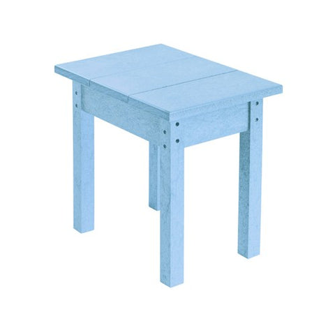 T01 SMALL RECTANGULAR TABLE SKY BLUE 12