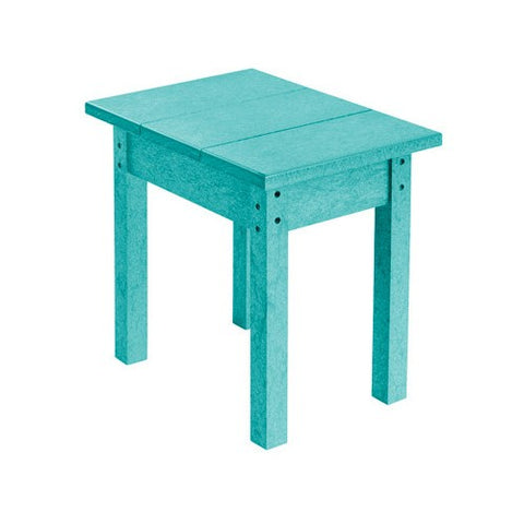 T01 SMALL RECTANGULAR TABLE TURQUOISE 09
