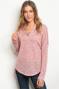 Blush Speckled sweater