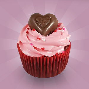 Chocolate Heart Cupcake