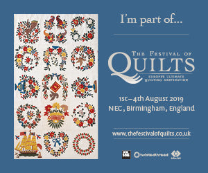 The Festival of Quilts is back!!!