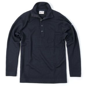 Blaatrøie Button Neck, Navy