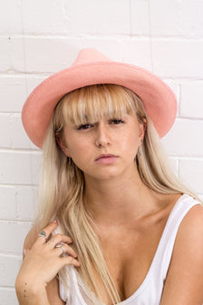 ON SALE The Classic Pink Panama Hat