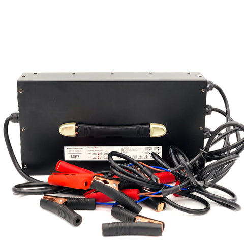 4 bank 12v10A lithium battery charger