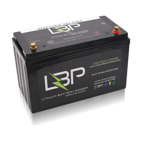 24V 75Ah Lithium Ion Battery