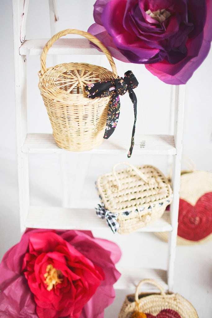 "The ""Jane"" Wicker Bucket"