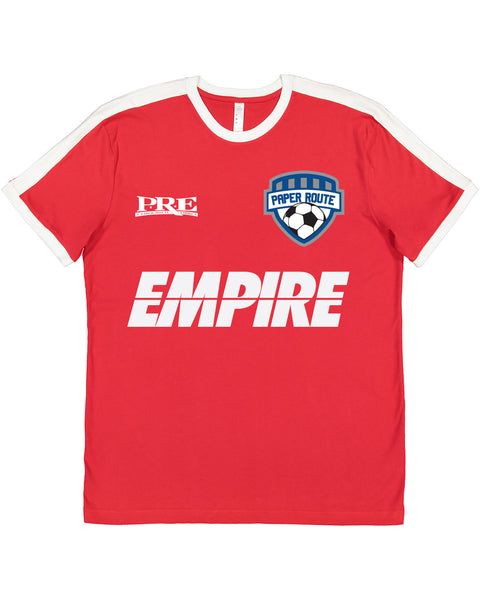 Limited Edition P.R.E Soccer Tee (RED)