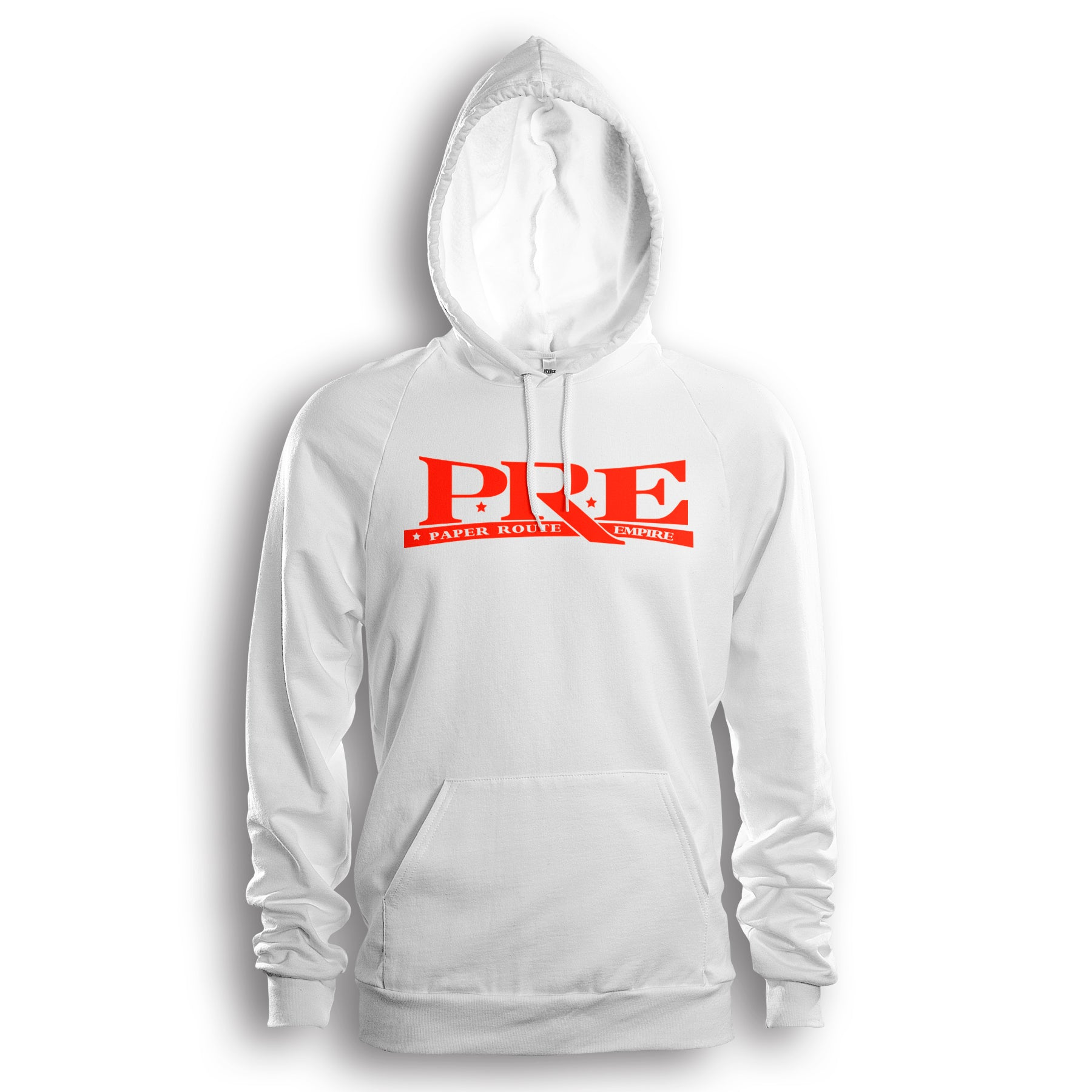 Paper Route Empire Hoodie (White/Red)