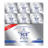 SCS Pure Creamery Butter Portion - Salted 12 x 10G | Spreads | Office Pantry Supplies