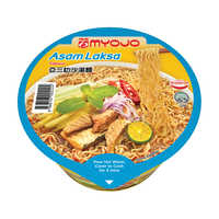 Myojo Instant Bowl Noodles - Asam Laksa  80G | Instant Cups | Office Pantry Supplies