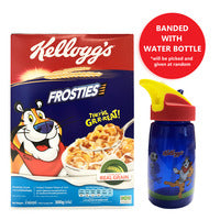 Kellogg's Cereal - Corn Frosties + Free Water Bottle 300G | Cereal | Office Pantry Supplies