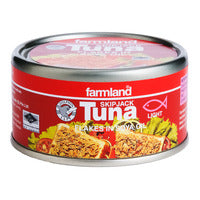 Farmland Skipjack Tuna - Flakes in Polyunsaturated Oil 185G | Canned | Office Pantry Supplies