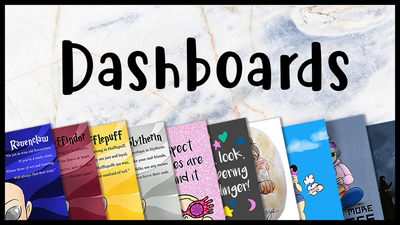 Artsy Fartsy  Dashboards