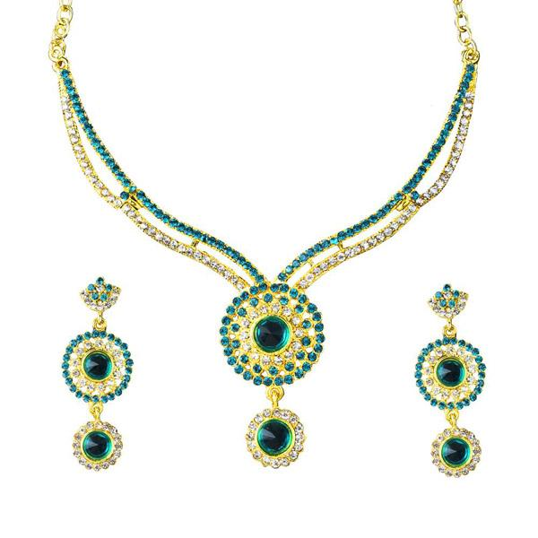 Tiptop Fashions Austrian Stone  Necklace Set   - 1101335