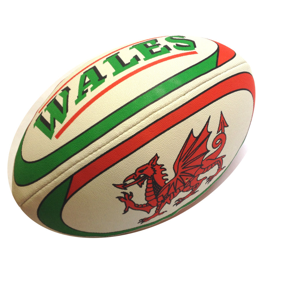 Wales Size 5 Pimple Rugby Ball [wr14]