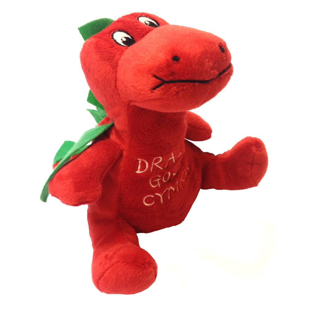 Dragon's Tale Welsh Dragon Soft Toy [med sitting 6