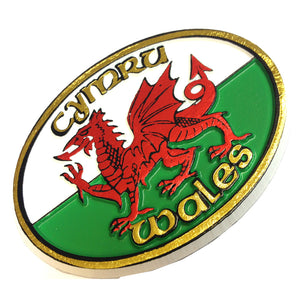 Wales Rugby Ball Moulded PU Fridge Magnet [wm165]