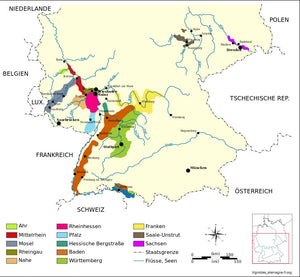 German Wine Regions