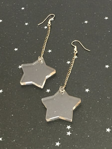 Acrylic 'Star' Earrings - Riddhika Jesrani