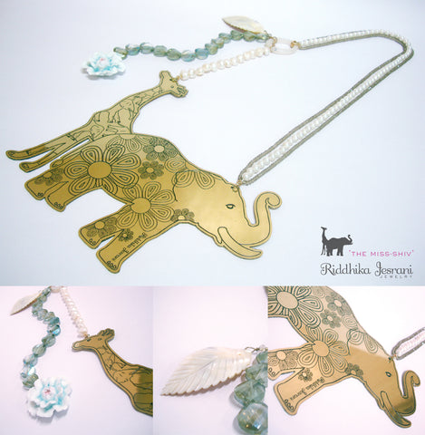 Animal Love 'The Miss Shiv' Necklace - Riddhika Jesrani