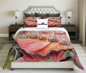 Colourful Snail Bedding Set | beddingkings