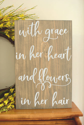 Little Girl  Wood Sign - Girls Room Decor - Girls Room Decor