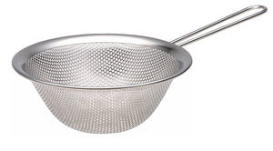 Sori Yanagi 18-8 Stainless Punched Strainer with Handle 6.29""