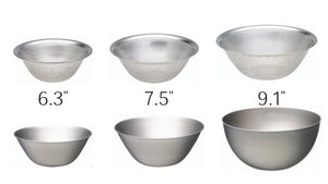 Sori Yanagi 18-8 Stainless Bowl & Punched Strainer Set 6pcs - Stackable for storage - Rust proof - Dishwasher safe - Fine punched holes are suitable for draining and straining foods large and small - Easy to clean