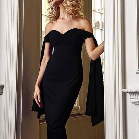 Image of Paris Off The Shoulder Dress