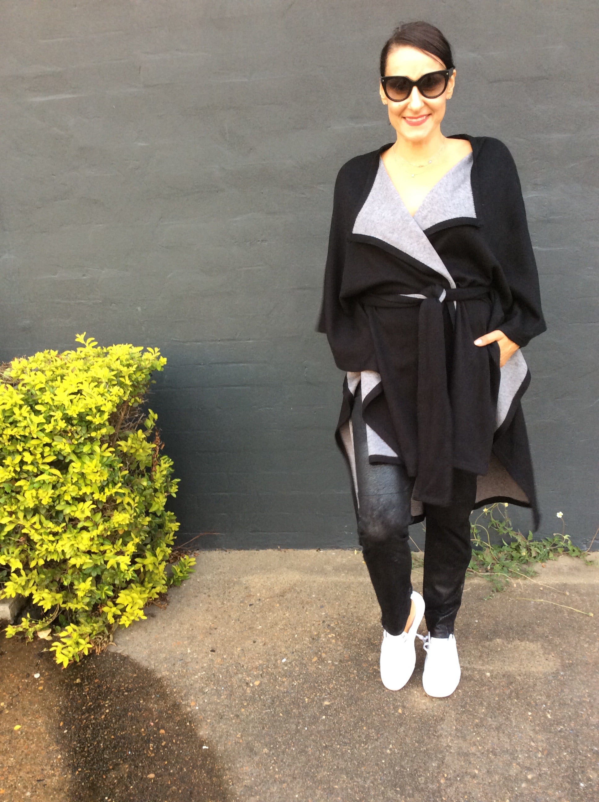 MOHEKEN KNIT JKT/CAPE by MILLA