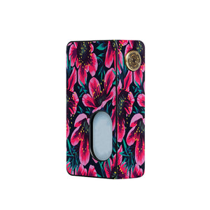 Pink Floral Dotmod Squonk Skins