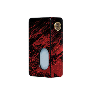 Red Black Blood Dotmod Squonk Skins