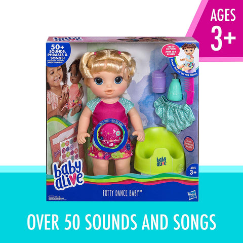 Baby Alive Potty Dance Baby: Talking Baby Doll