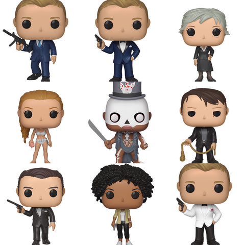 James Bond Funko Pops