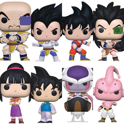 Dragon Ball Z S6 Funko Pops