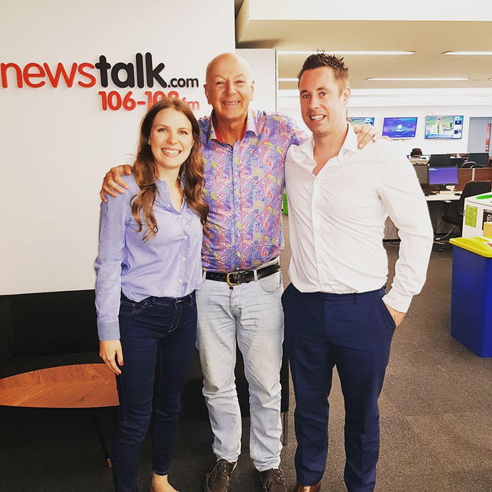 Romance Engineers Interview with Bobby Kerr of Newstalk's Down to Business Show