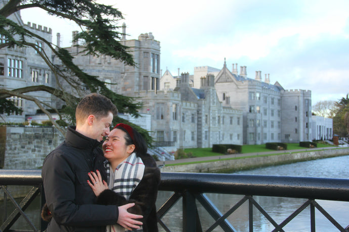 Stunning Proposal in Adare Manor Hotel Grounds