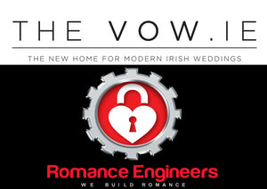 THEVOW.IE and The Romance Engineers Logo Irelands Premium Proposal Planning Service www.romanceengineers.ie Proposal Proposal Planners Got engaged how to propose in Ireland or abroad