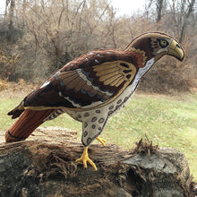 Felt Red Tailed Hawk