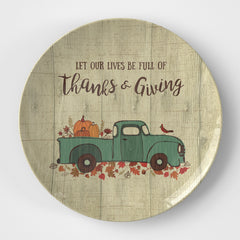 Thanks & Giving Plate