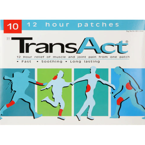 TransAct Patches 10s