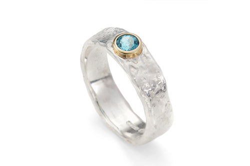 example of handmade ring by Sandra Austin